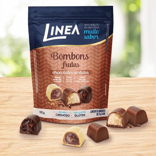 Linea Bombons Sortidos Com Frutas 10 U...